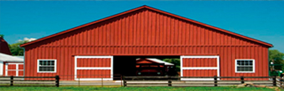 Applications Livestock barn